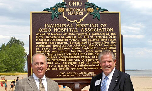 Ohio Hospitals' United Voice Since 1915 feature image